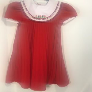 Red Youngland dress